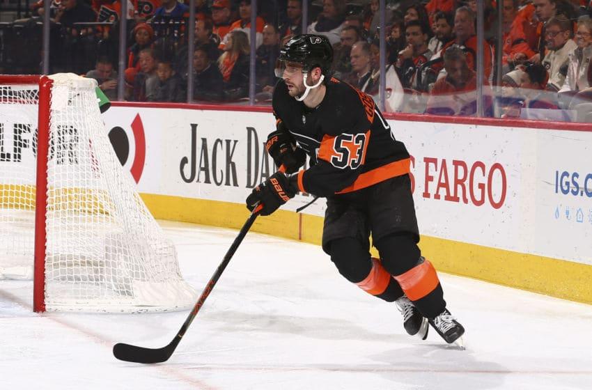 Shayne Gostisbehere, Philadelphia Flyers (Photo by Mitchell Leff/Getty Images)