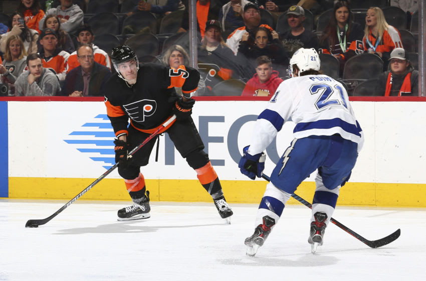 Philippe Myers, Philadelphia Flyers (Photo by Mitchell Leff/Getty Images)