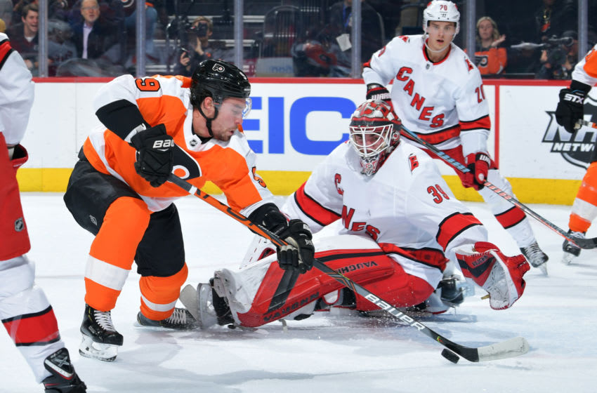 Ivan Provorov Philadelphia Flyers (Photo by Drew Hallowell/Getty Images)