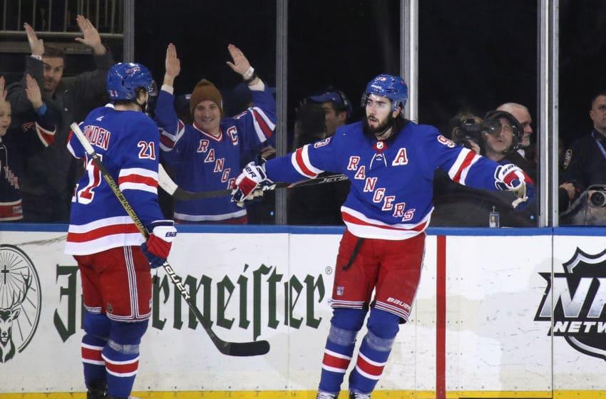 Mika Zibanejad, New York Rangers (Photo by Bruce Bennett/Getty Images)