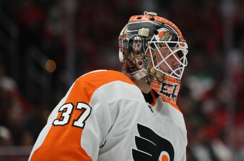 Brian Elliott, Philadelphia Flyers (Photo by Patrick Smith/Getty Images)