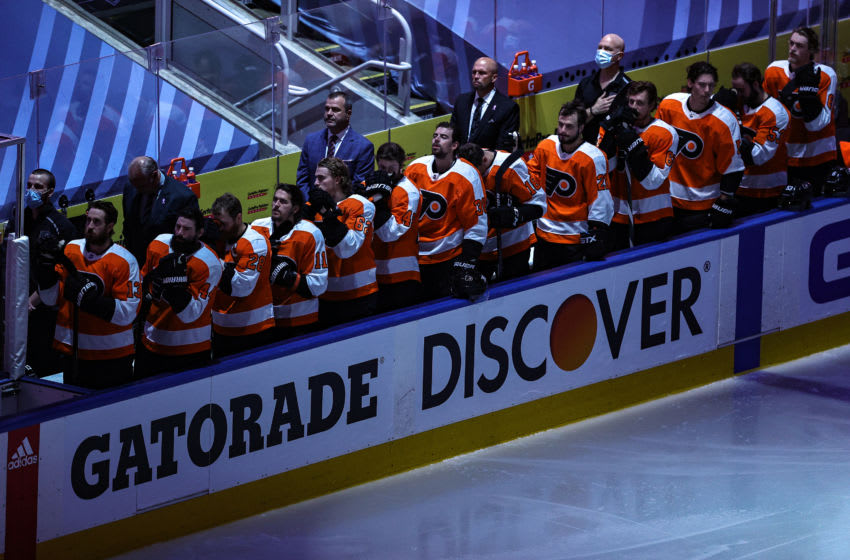 The Philadelphia Flyers (Photo by Elsa/Getty Images)