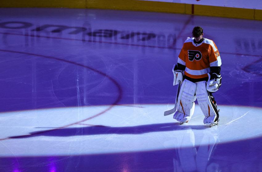Carter Hart, Philadelphia Flyers (Photo by Elsa/Getty Images)