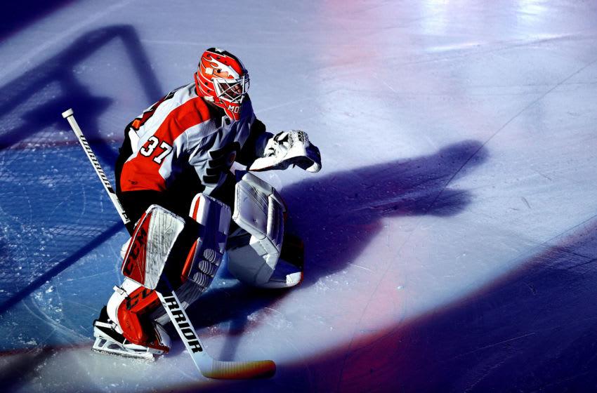 Brian Elliott, Philadelphia Flyers (Photo by Elsa/Getty Images)