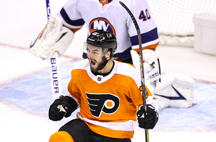 Scott Laughton, Philadelphia Flyers (Photo by Elsa/Getty Images)