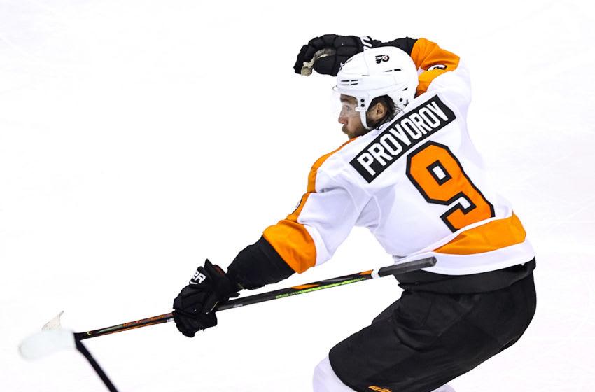 Ivan Provorov, Philadelphia Flyers (Photo by Elsa/Getty Images)