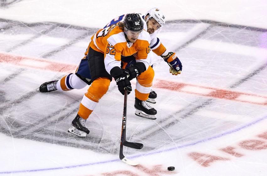 Nicolas Aube-Kubel, Philadelphia Flyers (Photo by Elsa/Getty Images)