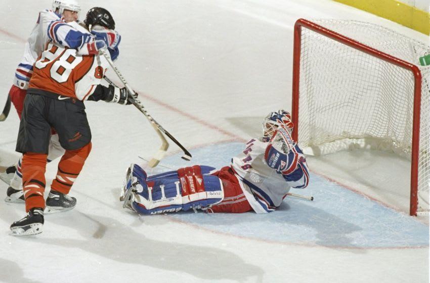 Eric Lindros, Philadelphia Flyers (Al Bello/Getty Images Sport)