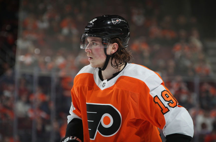 Nolan Patrick, Philadelphia Flyers (Photo by Bruce Bennett/Getty Images)