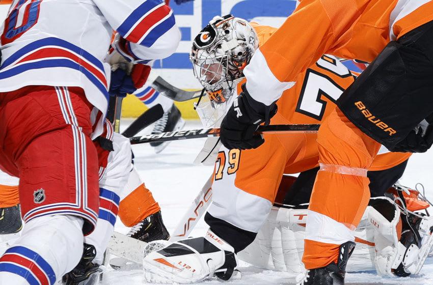 Carter Hart, Philadelphia Flyers (Photo by Tim Nwachukwu/Getty Images)