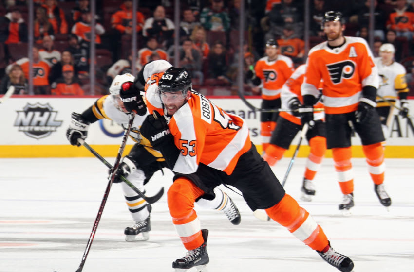 Shayne Gostisbehere, Philadelphia Flyers (Photo by Bruce Bennett/Getty Images)