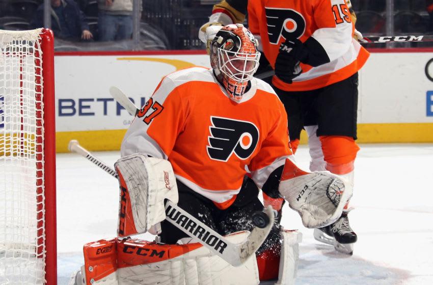 Brian Elliott, Philadelphia Flyers (Photo by Bruce Bennett/Getty Images)