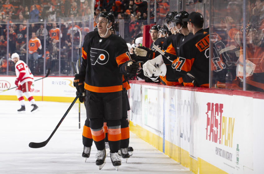 Kevin Hayes, Philadelphia Flyers (Photo by Mitchell Leff/Getty Images)