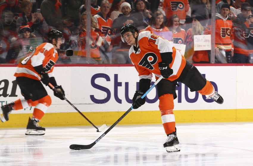 Tyler Pitlick, Philadelphia Flyers (Photo by Mitchell Leff/Getty Images)