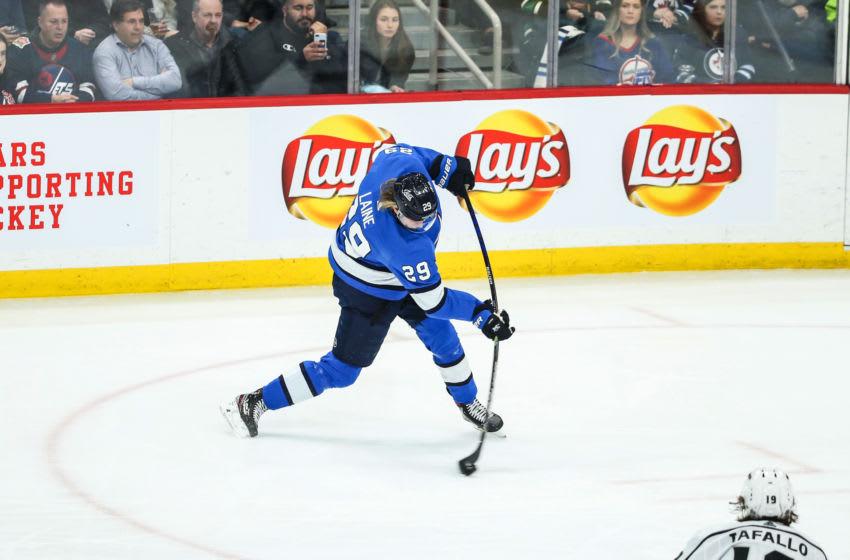 Patrik Laine, Winnipeg Jets (Mandatory Credit: Terrence Lee-USA TODAY Sports)