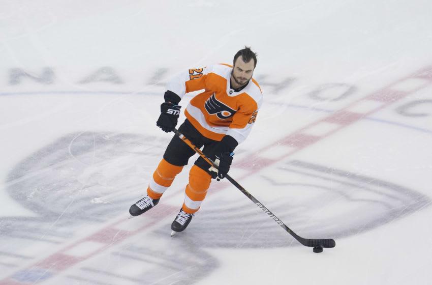 Scott Laughton, Philadelphia Flyers (Mandatory Credit: John E. Sokolowski-USA TODAY Sports)
