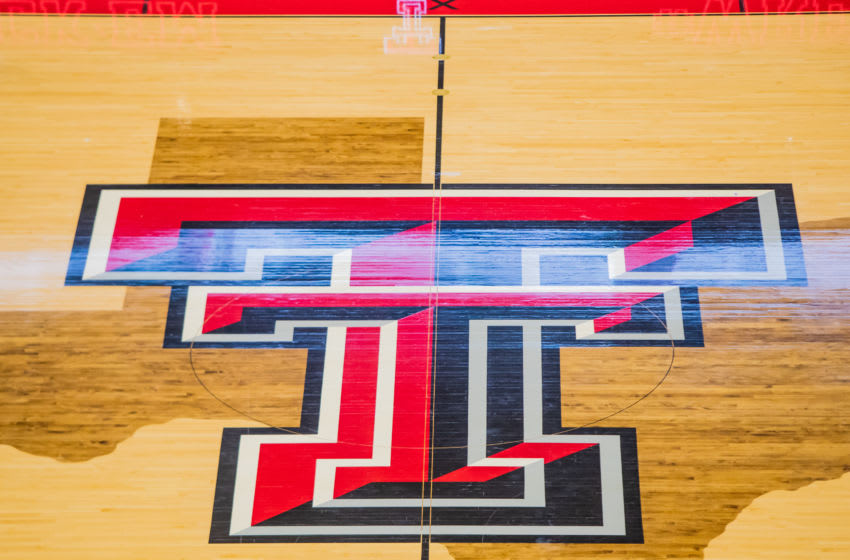 LUBBOCK, TEXAS - JANUARY 29: The Texas Tech Red Raiders court is empty before the college basketball game against the West Virginia Mountaineers on January 29, 2020 at United Supermarkets Arena in Lubbock, Texas. (Photo by John E. Moore III/Getty Images)