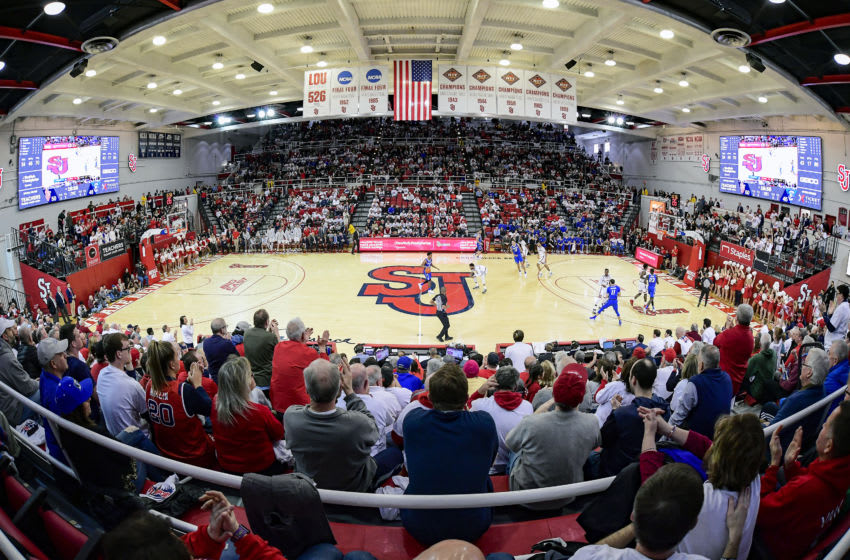 NEW YORK, NEW YORK - MARCH 01: A general view during the game between the St. John's Red Storm and the Creighton Bluejays at Carnesecca Arena on March 01, 2020 in New York City. (Photo by Steven Ryan/Getty Images)