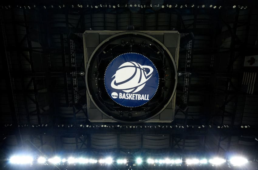 CHARLOTTE, NC - MARCH 22: A general view before the start of the Michigan State Spartans versus Virginia Cavaliers in the third round of the 2015 NCAA Men's Basketball Tournament at Time Warner Cable Arena on March 22, 2015 in Charlotte, North Carolina. (Photo by Grant Halverson/Getty Images)