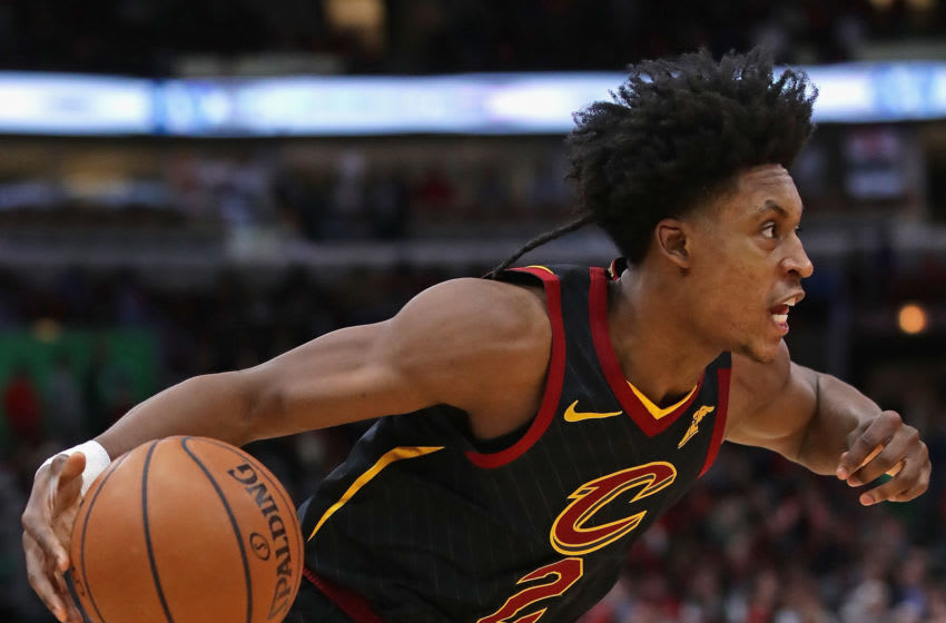 CHICAGO, ILLINOIS - MARCH 10: Collin Sexton #2 of the Cleveland Cavaliers drives against the Chicago Bulls at the United Center on March 10, 2020 in Chicago, Illinois. NOTE TO USER: User expressly acknowledges and agrees that, by downloading and or using this photograph, User is consenting to the terms and conditions of the Getty Images License Agreement. (Photo by Jonathan Daniel/Getty Images)