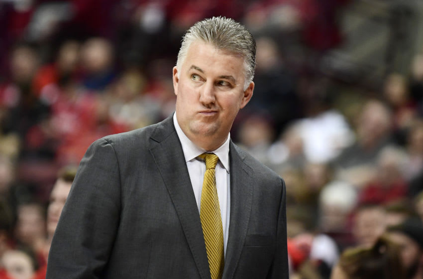 COLUMBUS, OHIO - FEBRUARY 15: Purdue Boilermakers head coach Matt Painter reacts during their game against the Ohio State Buckeyes at Value City Arena on February 15, 2020 in Columbus, Ohio. (Photo by Emilee Chinn/Getty Images)