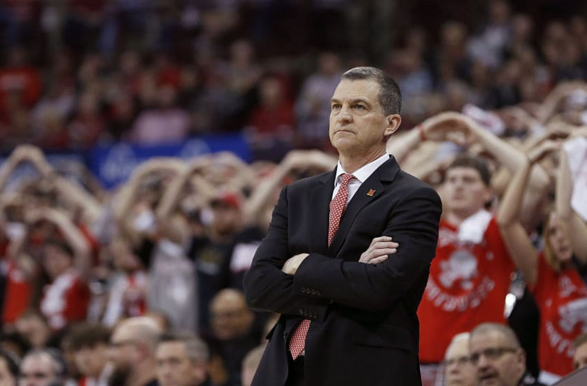 COLUMBUS, OHIO - FEBRUARY 23: Head coach Mark Turgeon of the Maryland Terrapins watches his team in the game against the Ohio State Buckeyes at Value City Arena on February 23, 2020 in Columbus, Ohio. (Photo by Justin Casterline/Getty Images)
