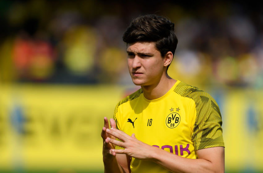Leonardo Balerdi of Borussia Dortmund (Photo by TF-Images/Getty Images)