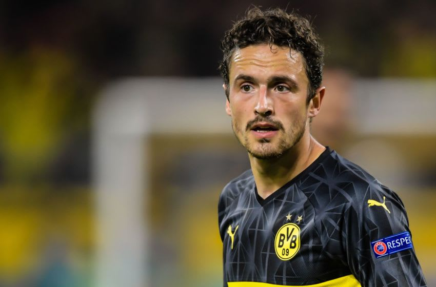 Thomas Delaney of Borussia Dortmund (Photo by VI Images via Getty Images)