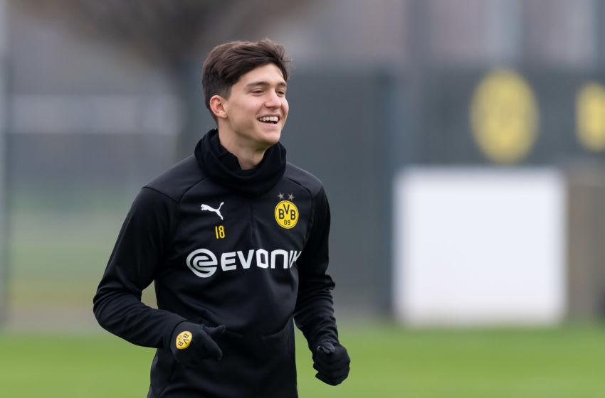 Leonardo Balerdi of Borussia Dortmund (Photo by TF-Images/Getty Images)