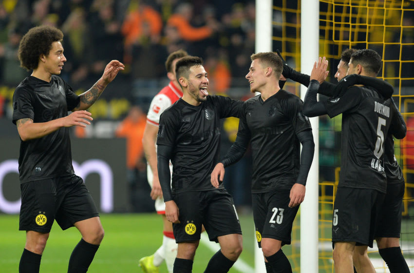 Borussia Dortmund will be looking for a repeat of their 5-0 win over Fortuna Düsseldorf earlier this season (Photo by TF-Images/Getty Images)