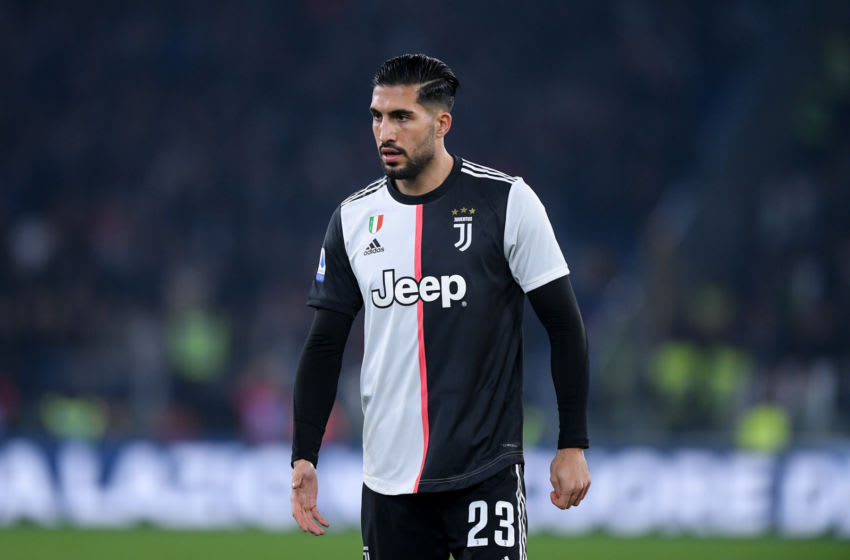 Emre Can of Juventus during the Serie A match between Lazio and Juventus at Stadio Olimpico, Rome, Italy on 7 December 2019. (Photo by Giuseppe Maffia/NurPhoto via Getty Images)