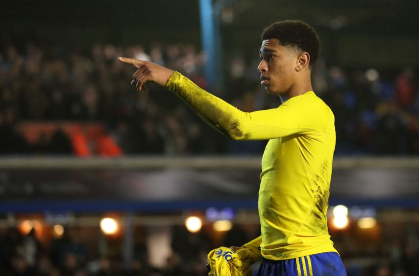 BIRMINGHAM, ENGLAND - JANUARY 25: Jude Bellingham of Birmingham City at full time of the FA Cup Fourth Round match between Coventry City and Birmingham City at St Andrew's Trillion Trophy Stadium on January 25, 2020 in Birmingham, England. (Photo by James Williamson - AMA/Getty Images)