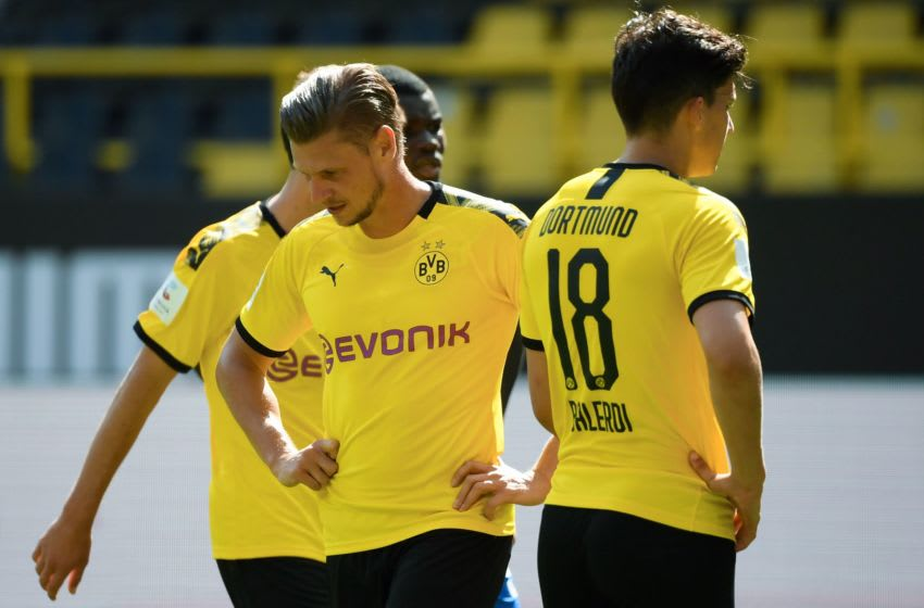 Borussia Dortmund had a day to forget (Photo by INA FASSBENDER/AFP via Getty Images)