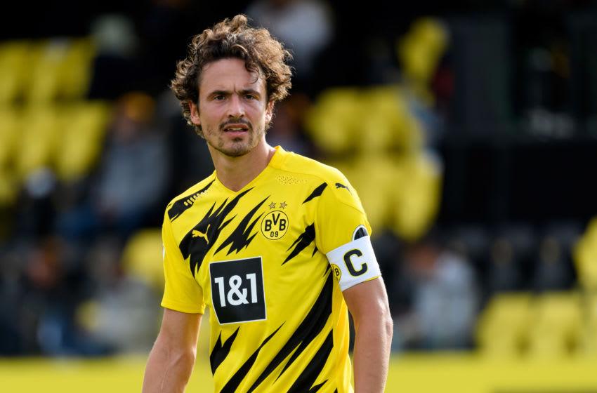 Thomas Delaney of Borussia Dortmund (Photo by Alex Gottschalk/DeFodi Images via Getty Images)