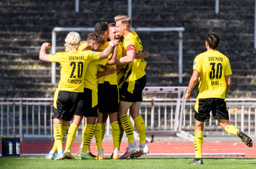 Borussia Dortmund II have been promoted to the third division of German football (Photo by Laura Trawinski/DeFodi Images via Getty Images)