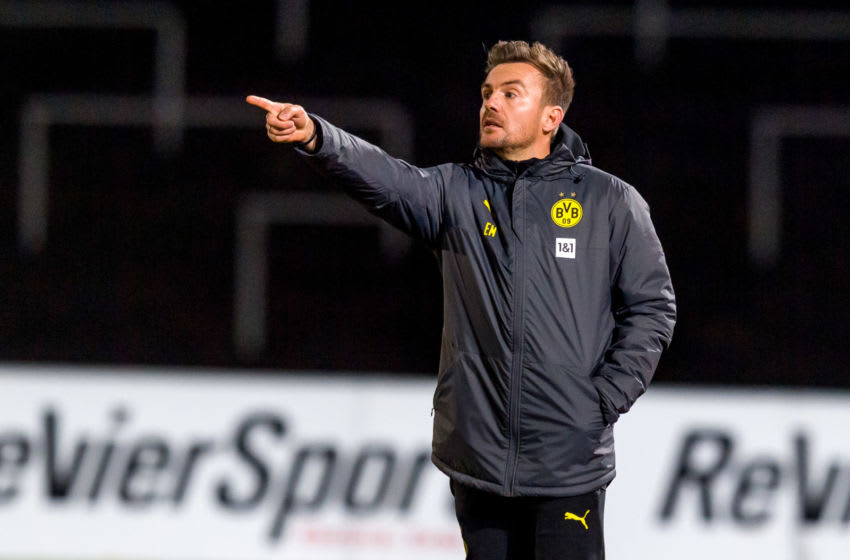 Borussia Dortmund II were held to a goalless draw by Rödinghausen (Photo by Mario Hommes/DeFodi Images via Getty Images)