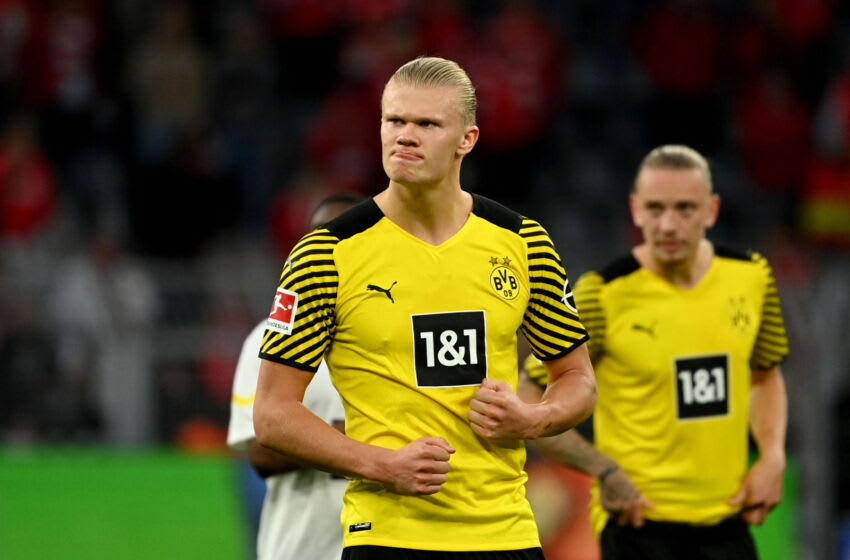 Erling Haaland (Photo by INA FASSBENDER/AFP via Getty Images)
