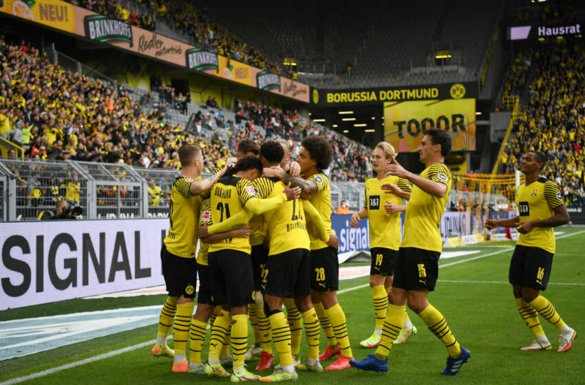 Borussia Dortmund face a tough period of games (Photo by INA FASSBENDER/AFP via Getty Images)