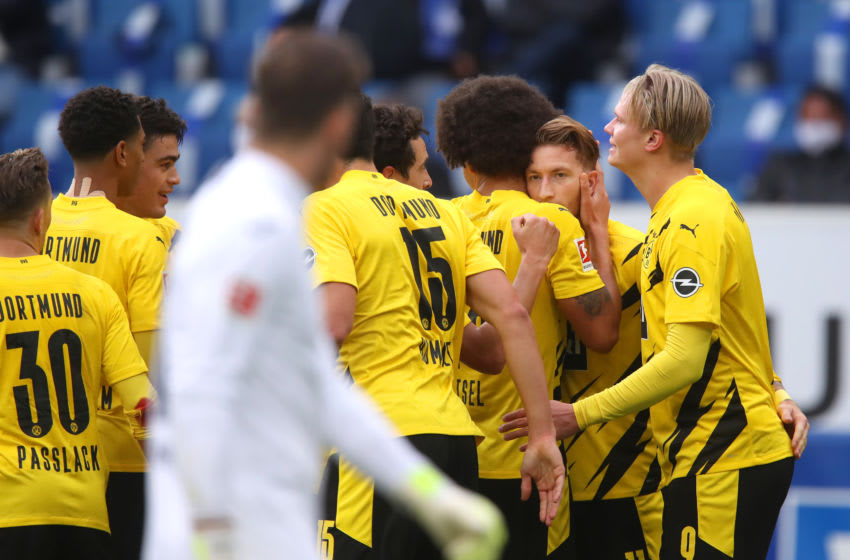 Marco Reus scored the winner for Borussia Dortmund (Photo by Alex Grimm/Getty Images)