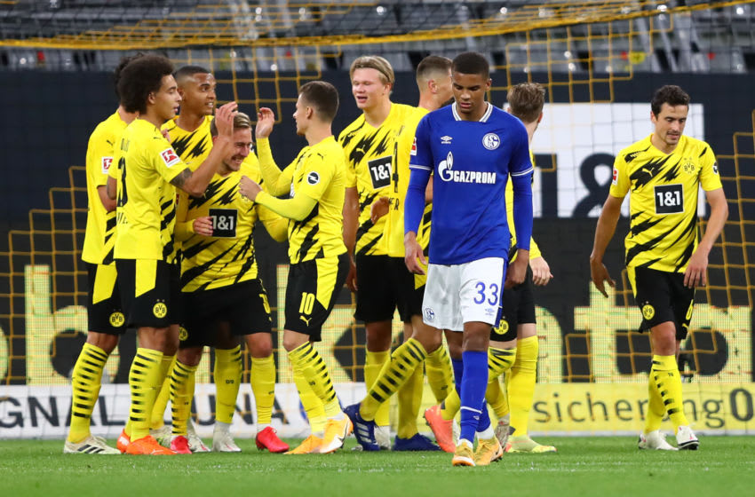 Borussia Dortmund take on Schalke this weekend (Photo by Martin Rose/Getty Images)