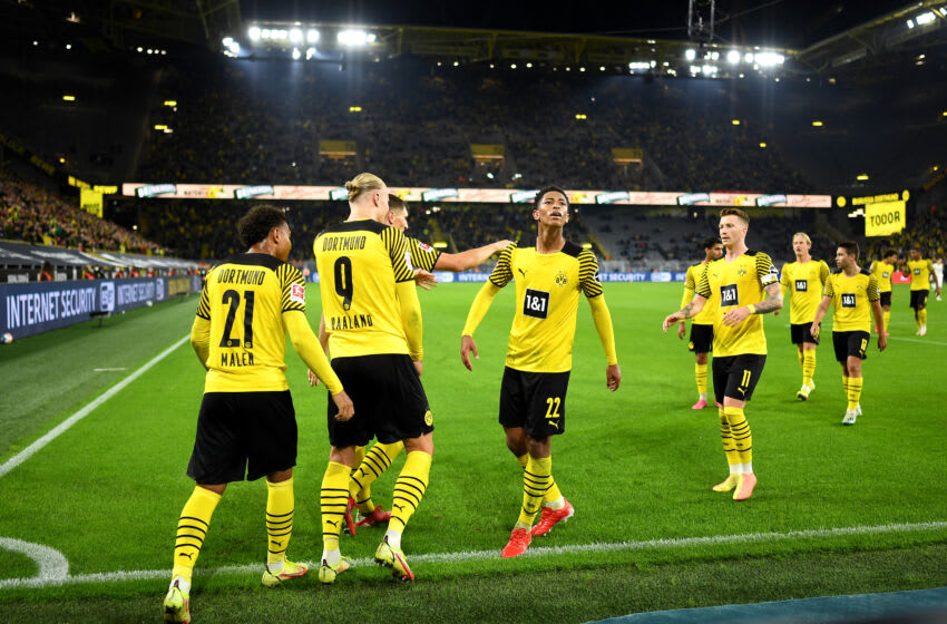 Borussia Dortmund begin their Champions League campaign next week (Photo by Lukas Schulze/Getty Images)