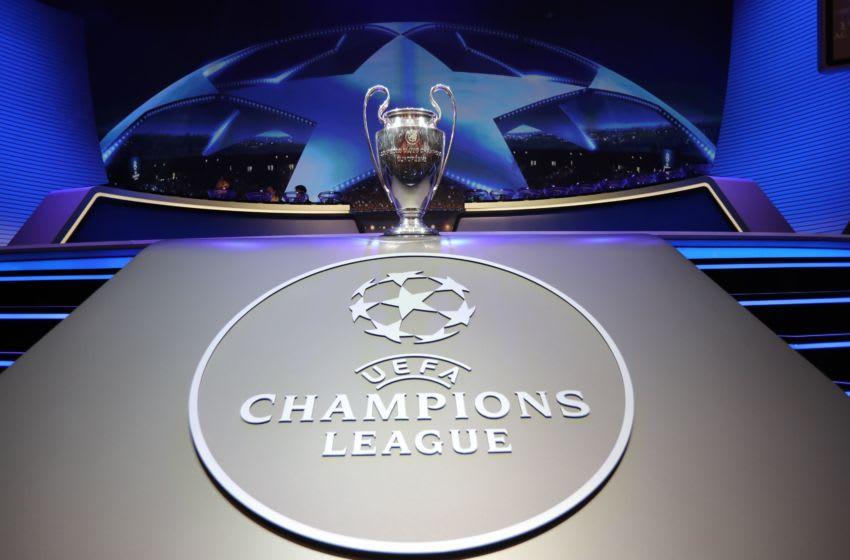 The Champions League Trophy (Image: VALERY HACHE/AFP via Getty Images)