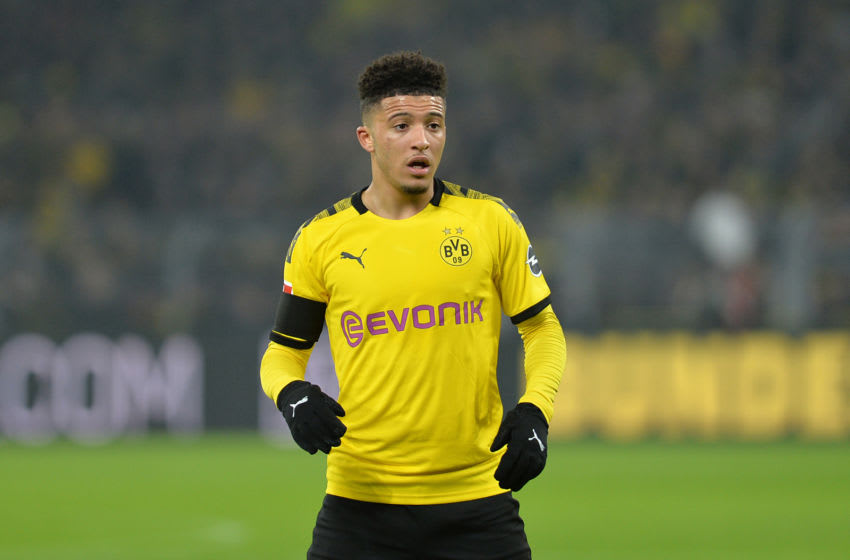 Jadon Sancho of Borussia Dortmund (Photo by TF-Images/Getty Images)