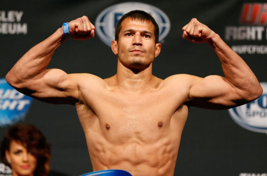 Former UFC welterweight Bobby Voelker (pictured) is one of the top fighters currently at Shamrock FC.