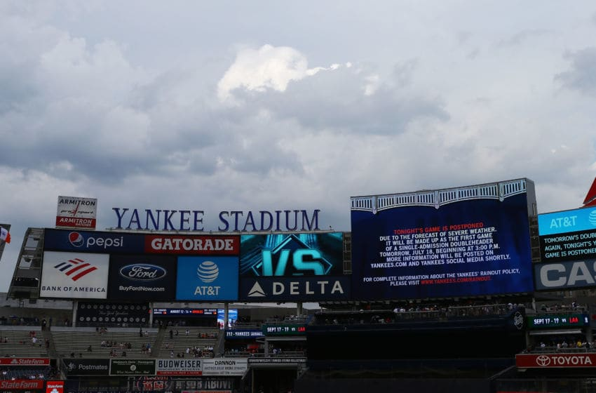 NEW YORK, NEW YORK - JULY 17: A general view of Yankee Stadium prior to a game between the New York Yankees and the Tampa Bay Rays on July 17, 2019 in New York City. (Photo by Mike Stobe/Getty Images)