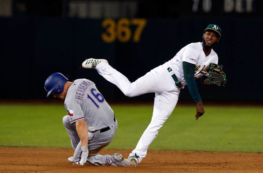 The Oakland A's took two of three from Texas in 2020 mid-week AL simulation. (Photo by Jason O. Watson/Getty Images)