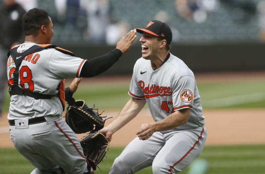 John Means threw a wonderful no-hitter. Mandatory Credit: Joe Nicholson-USA TODAY Sports