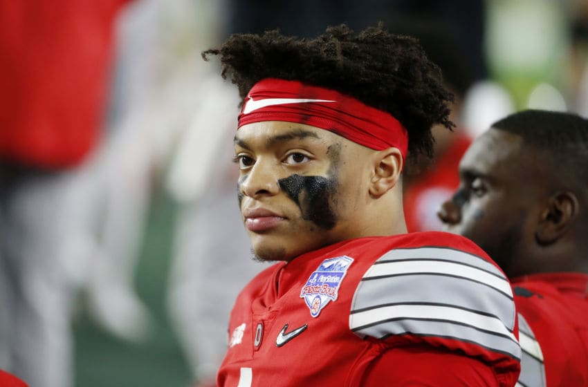 (Photo by Ralph Freso/Getty Images) Justin Fields