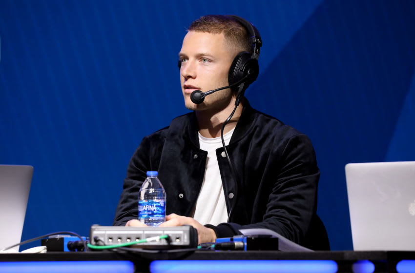 (Photo by Cindy Ord/Getty Images for SiriusXM ) Christian McCaffrey