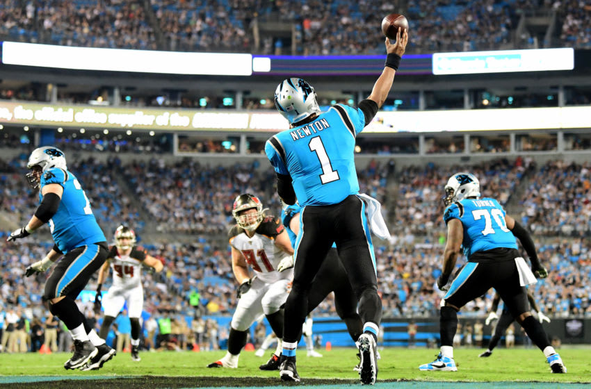 (Photo by Jacob Kupferman/Getty Images) Cam Newton